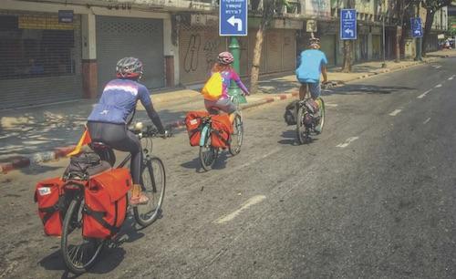 ส่งด้วยจักรยาน พลังสะอาด สร้างอาชีพและสังคมดีๆ ทุกเช้า